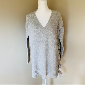 Free People Inside And Out Long Oversize Sweater